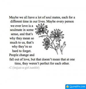 Soul Mates Quotes Have a lot of soul mates