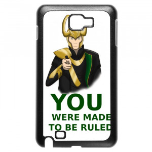 Avengers Loki Quotes Galaxy Note Case