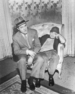 Bob Hope and Peter Lorre
