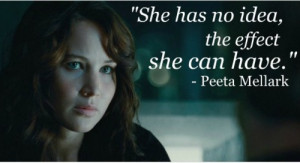 movie, the hunger games, quotes, sayings, real, idea, about herself ...