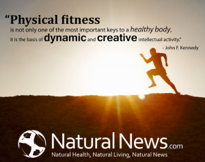 physical fitness is not only one of the most important keys to a