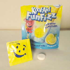 If you can't find Kool-Aid Fun Fizz in your store you can buy them ...