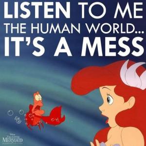 It's why I know I'm a mermaid.... I'm not meant for this shallow ass ...