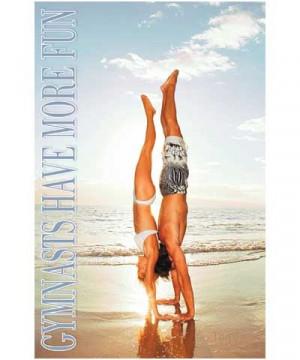 Gymnastics Have More Fun Poster