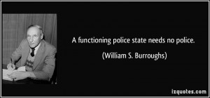 Police State Quotes