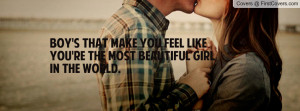 ... you feel like you're the most beautiful girl in the world. , Pictures