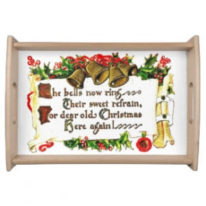 Christmas Quotes Serving Trays