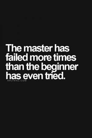 Change the way you look at 'failure.'