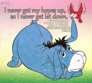 Winnie The Pooh Eeyore Quotes Tattoo