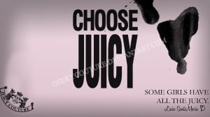 Juicy Couture Wallpaper by geekycouture