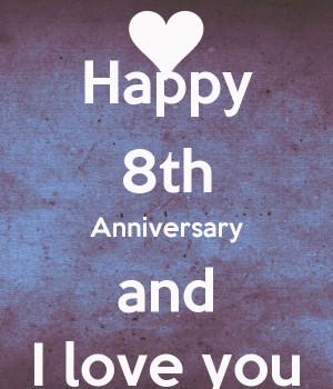 Happy 8th Year Anniversary