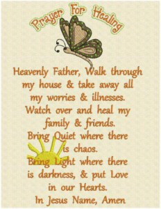 Short Prayer for Healing Quotes