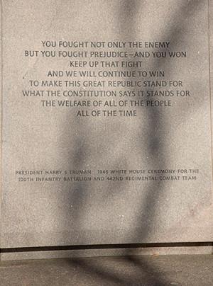 The Japanese American Memorial to Patriotism During World War II