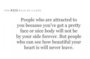 The #272 rule of a lady