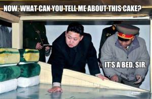 ... kim jong Il, kim jong un, cake, fat asian kid, Kim Jong Un Really