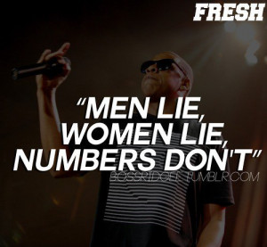 Rapper, jay z, quotes, men lie, women lie