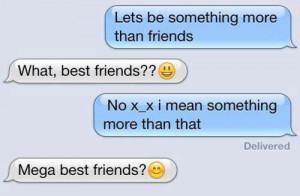 Mega best friendzoned