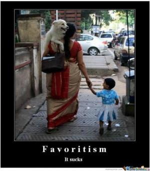 Favoritism Cartoons Cartoon Funny Picture