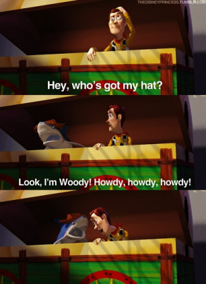 ... Toy Story Funny Quotes, Disney Movie Scenes, Favorite Quotes, Funny