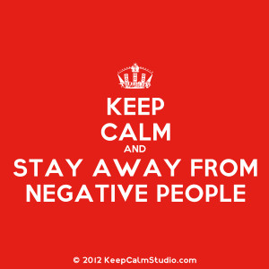 Negative People Quotes People warned stay away.