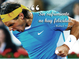 Tennis Quotes Tumblr Nadal, quote, rafael nadal,