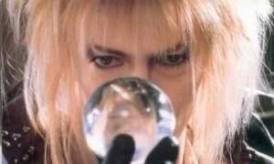 Jareth - crystal ball - David Bowie - Labyrinth