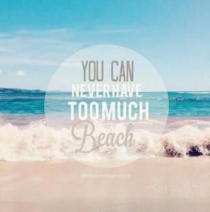 Another cute beach quote :-)