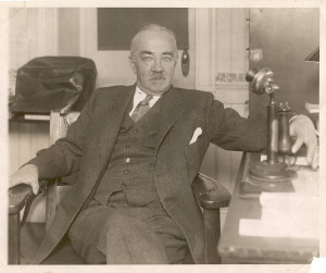 View full size Milton Hershey at his desk in 1923. Courtest of Hershey ...