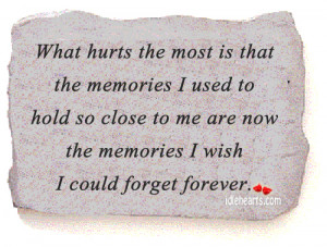 What Hurts The Most...