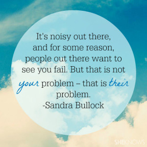 Sandra Bullock Quotes About Life