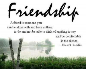 Friendship Quotes And Sayings With Pictures
