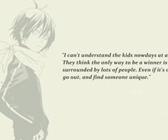 Noragami quotes.