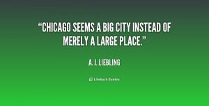 Big City Quotes