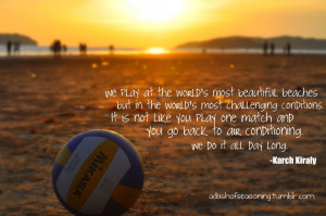 Volleyball Tumblr Quotes #quotes #typography