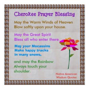 Native American Wisdom Quotes Print