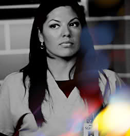 Callie Torres; She saw Mark as 'McSteamy' at first, not Mark. But ...