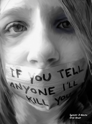Stop Child Abuse The words almost every abused child knows