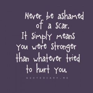 cutting scars self harm cutting quotes cutting scars her battle cutter ...