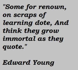 Edward young famous quotes 2