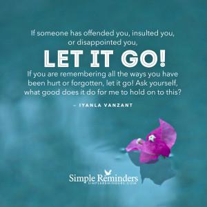 Let it go by Iyanla Vanzant