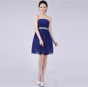 Plus Size Navy Blue Bridesmaid Dresses