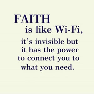 ... Wi-Fi, invisible but it has the power to connect you to what you need