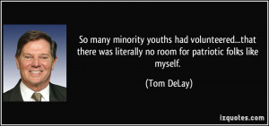 More Tom DeLay Quotes