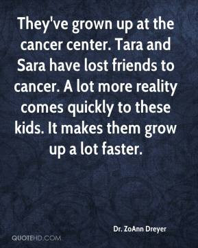 Lost to Cancer Quotes