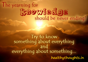 knowledge quotes-inspirational quotes-words of wisdom-the yearning for ...