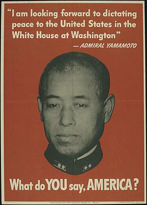 WWII Patriotic Poster, Historic U.S.A. American Patriotism Symbols/USA ...