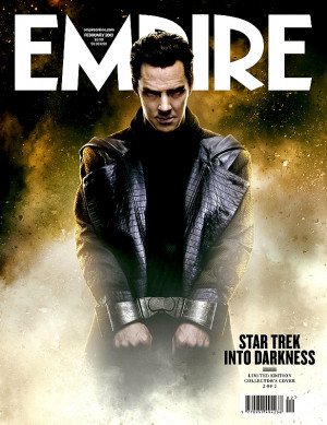 ... TREK INTO DARKNESS Villain John Harrison Graces The Cover Of Empire