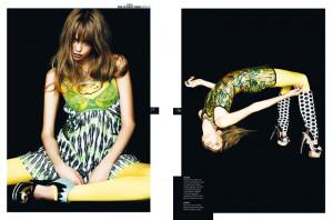 Thread: Abbey Lee Kershaw UK Style Magazine