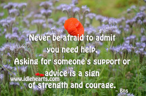 quotes about asking for help