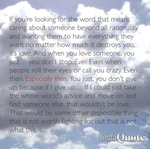 Ted Mosby love speech